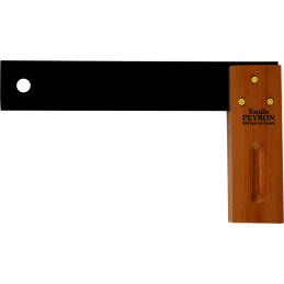 Equerre de menuiserie à talon 400mm - outils Emile Peyron