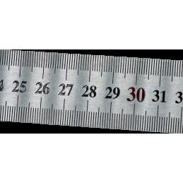 Réglet Inox Rigide 30 cm